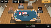 2D PKR Poker Mobile Table